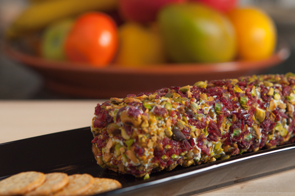 Pistachio Cranberry Goat Cheese