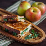 Grilled Apple and Gruyere Cheese Sandwich