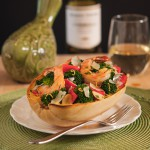 Spaghetti Squash with Shrimp and Vegetables