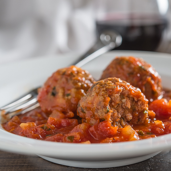 Turkey Meatballs with Tomato Sauce