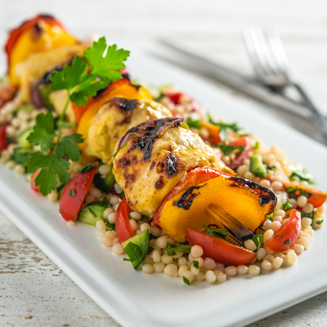 Middle Eastern Chicken Kabobs