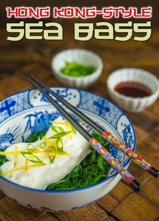 Hong Kong-Style Sea Bass