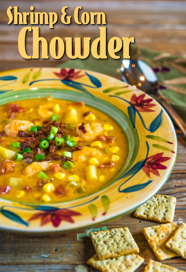 Shrimp and Corn Chowder