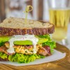 Crab Cake Club Sandwich