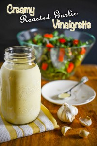 Creamy Roasted Garlic Vinaigrette